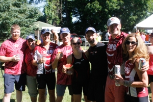 SMP's triathlon team